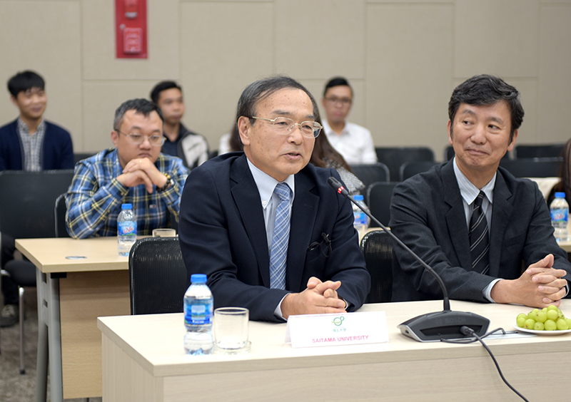 GS. Hiroshi Mutsuyoshi của trường ĐH Tổng hợp Saitama chia sẻ về những kỷ niệm hợp tác với CONINCO trong lĩnh vực đào tào nguồn nhân lực chất lượng cao