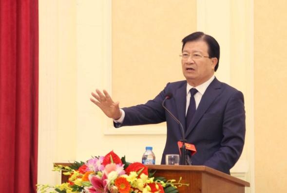 Phó Thủ tướng Chính phủ Trịnh Đình Dũng tham dự và chỉ đạo Hội nghị.