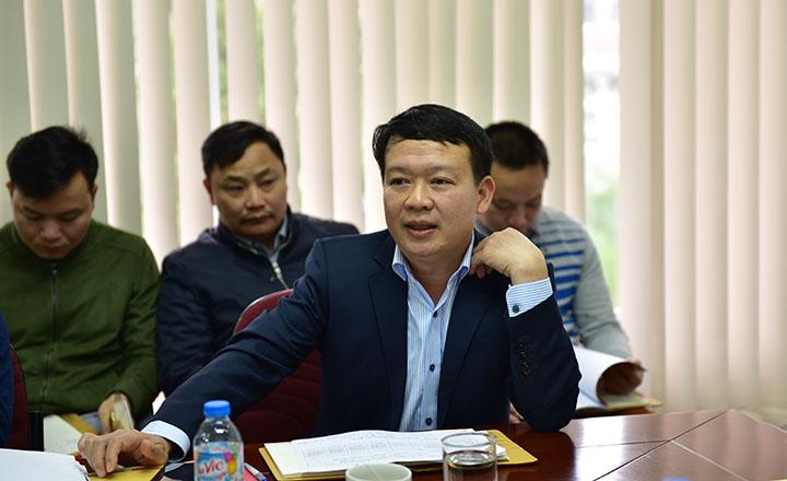 UVHĐQT, PTGĐ Nguyễn Mạnh Tuấn chủ trì hội nghị