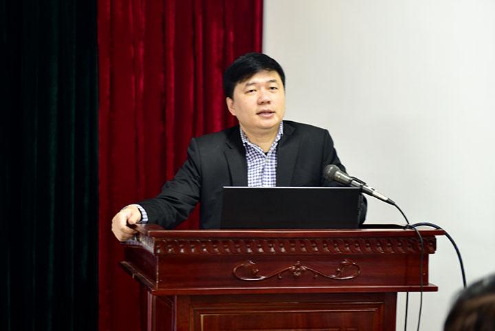 TS. Hà Minh – Tổng Giám đốc Công ty khai mạc hội nghị