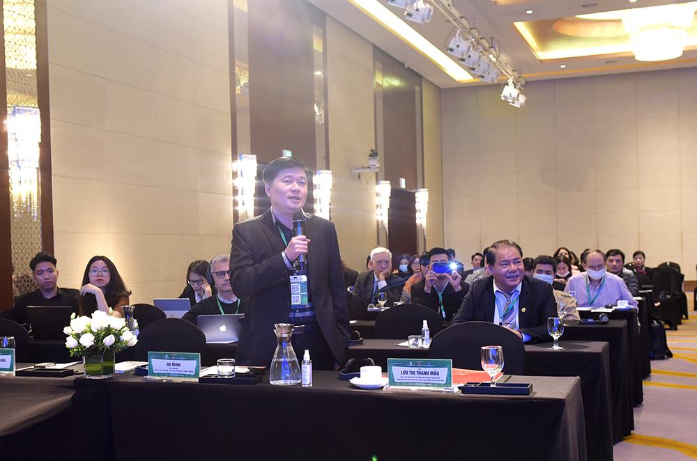 TS. Hà Minh – Tổng Giám đốc CONINCO phát biểu tại Tuần lễ Công trình xanh Việt Nam 2020