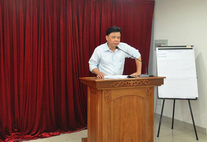 PTGĐ Nguyễn Minh Quân chủ trì hội nghị