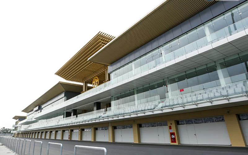 Tòa nhà Pit - trái tim của trường đua F1