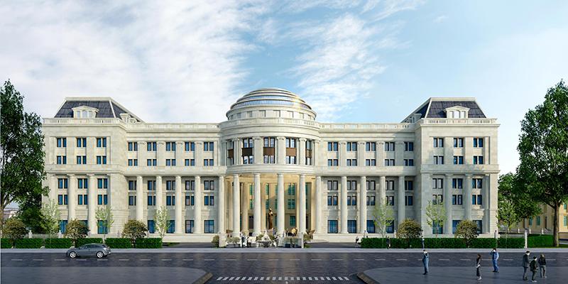 Phối cảnh Trụ sở Tòa án nhân dân tối cao