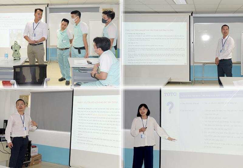 Đoàn chuyên gia CONINCO chia sẻ tại buổi hội thảo