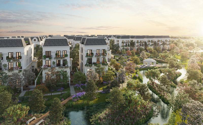 Phối cảnh Le Jardin Garden Villas