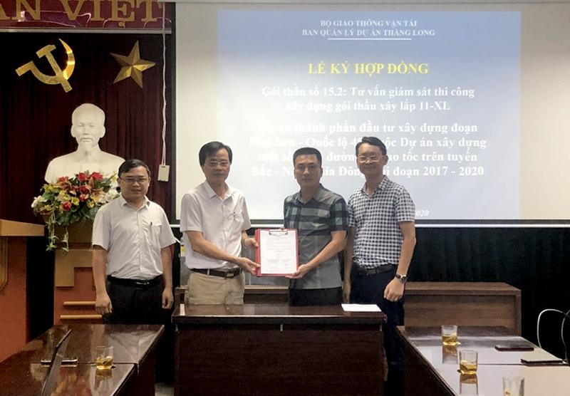 CONINCO được lựa chọn là đơn vị TVGS Dự án cao tốc Mai Sơn – QL45