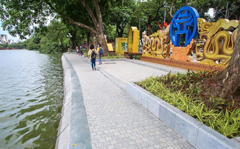 Diện mạo mới của Hồ Gươm là điểm nhấn đặc biệt trong dịp kỷ niệm những ngày lễ lớn ở Hà Nội.
