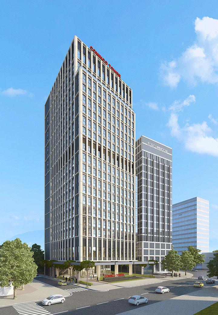 Phối cảnh dự án Tòa nhà CONINCO TOWER