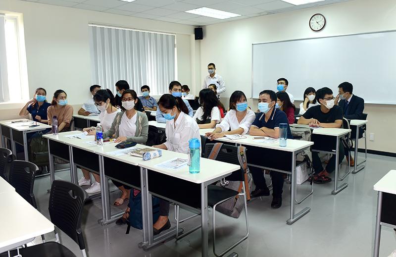 Rất nhiều học viên quan tâm và mong muốn được làm việc tại Công ty CONINCO