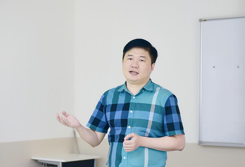 TS. Hà Minh – Tổng Giám đốc CONINCO chia sẻ tại VJU Job Fair 2020