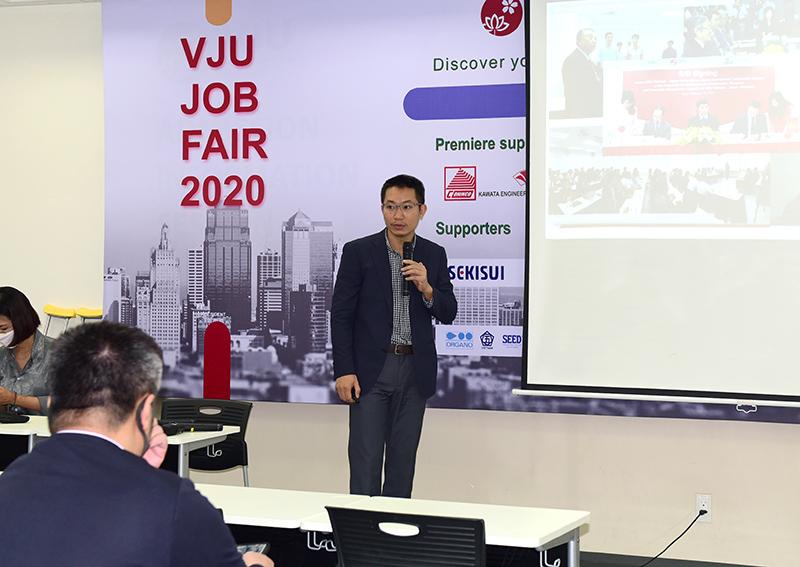TS. Nguyễn Hoàng Oanh – Phó Hiệu trưởng Trường Đại học Việt Nhật giới thiệu về VJU