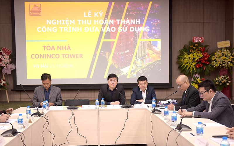 TS. Hà Minh – Tổng Giám đốc, Phó Chủ tịch HĐNT Công ty phát biểu tại buổi lễ