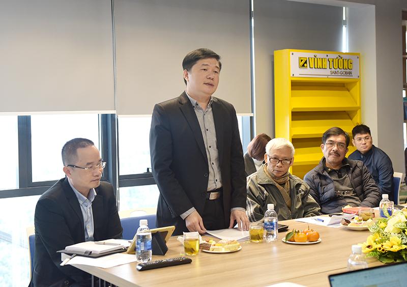 Tổng Giám đốc CONINCO, TS. Hà Minh ủy viên phản biện đề tài