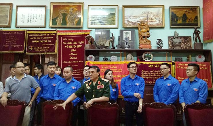 Thiếu tướng Lê Mã Lương chia sẻ những câu chuyện ý nghĩa về Chủ tịch Hồ Chí Minh và Đại tướng Võ Nguyên Giáp