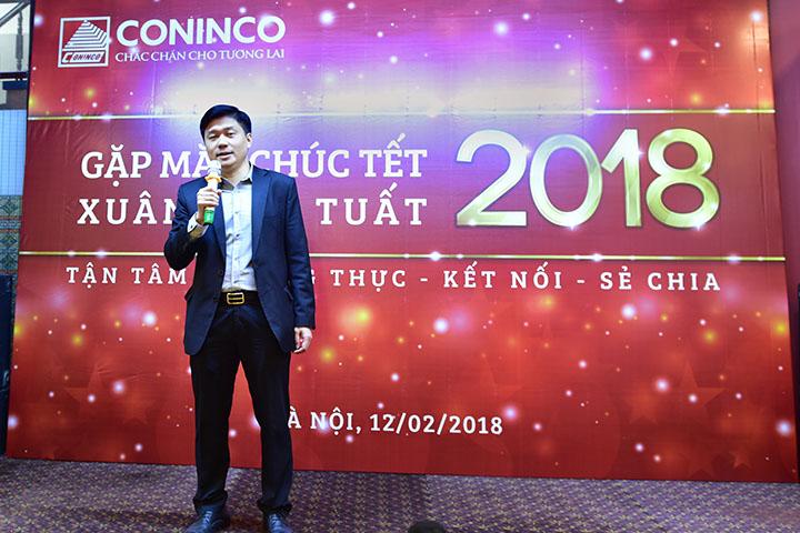 TS. Hà Minh – Tổng Giám đốc khai mạc buổi tiệc