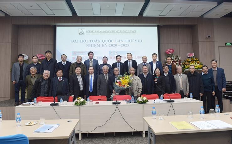 Thường trực BCH Hội khóa VIII nhiệm kỳ 2020-2025 ra mắt Đại hội